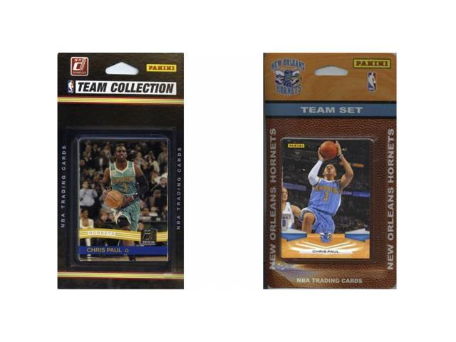 C & I Collectables HORNETS2TS NBA New Orleans Hornets 2 Different Licensed Trading Card Team Sets