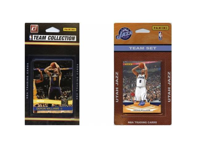 C & I Collectables JAZZ2TS NBA Utah Jazz 2 Different Licensed Trading Card Team Sets