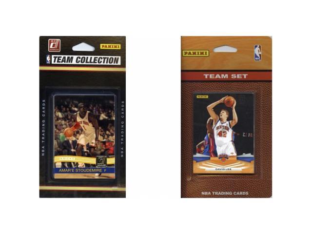 C & I Collectables KNICKS2TS NBA New York Knicks 2 Different Licensed Trading Card Team Sets