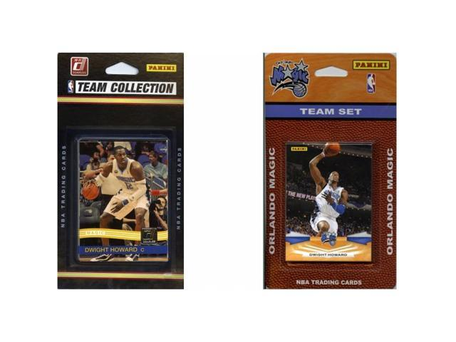 C & I Collectables MAGIC2TS NBA Orlando Magic 2 Different Licensed Trading Card Team Sets