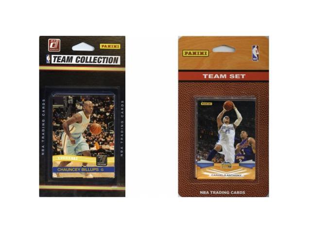 C & I Collectables NUGGETS2TS NBA Denver Nuggets 2 Different Licensed Trading Card Team Sets