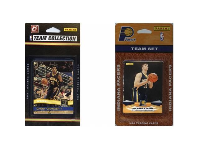 C & I Collectables PACERS2TS NBA Indiana Pacers 2 Different Licensed Trading Card Team Sets