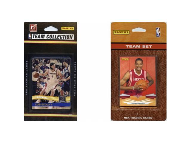 C & I Collectables ROCKETS2TS NBA Houston Rockets 2 Different Licensed Trading Card Team Sets