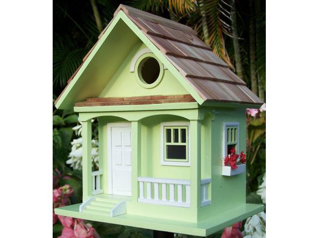 Home Bazaar Key Lime Cottage Birdhouse - Key Lime - HBB-1001S