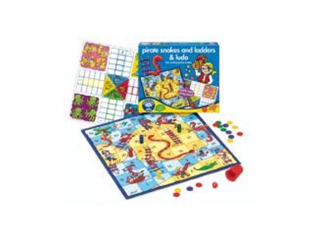 Original Toy Company 040 Pirates Snakes & Ladders & Ludo