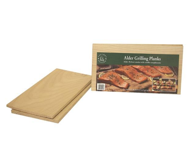 Natures Cuisine NC005-210 2 Count 5.5 in. X 10 in. X .31 in. Alder Grilling Plank
