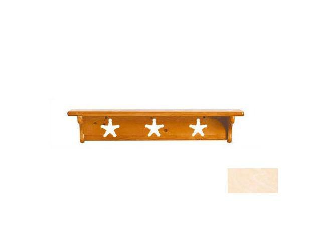 Little Colorado 1230UNFST Wall Shelf without Pegs - Star