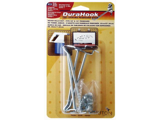 Triton Products Llc 813 10 Count 8 in. DuraHook Single Rod Hook - Pack of 12
