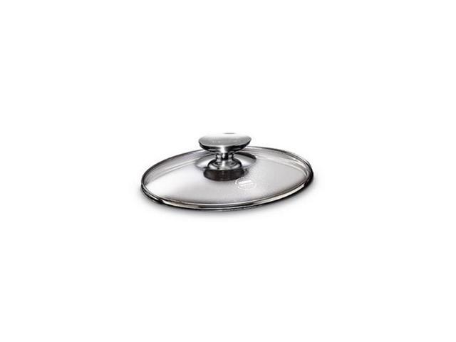 Berndes 007020 8 in. Tempered Glass Lid with Stainless Knob