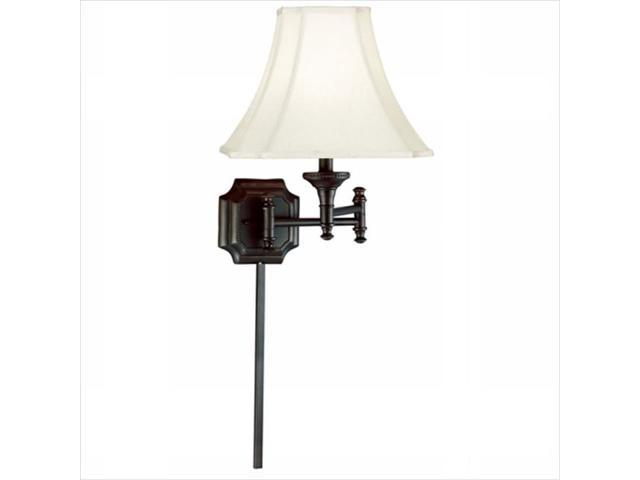 Swing Arm Wall Lamp Brass Finish : Kenroy Home 33054BBZ Wentworth Wall Swing Arm Lamp- Burnished Bronze Finish - Newegg.com