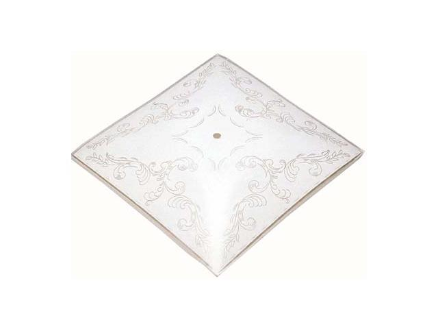 Westinghouse Lighting 8180700 Etched Square Diffuser Shade - Case of 12