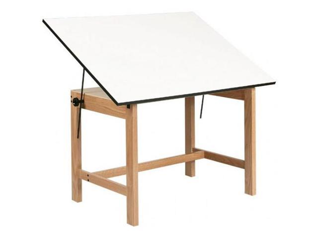 Alvin WOB60 Titan Wood Table 37.5x60x30