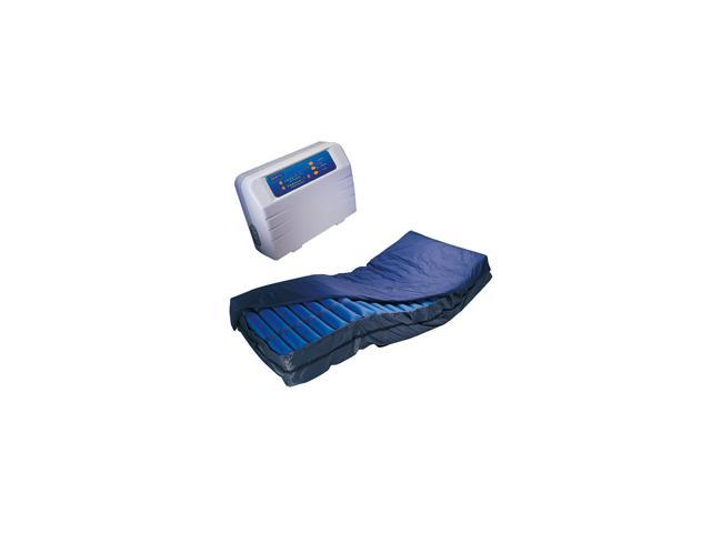 Roscoe Medical APM-10000-48BN Legacy XL Bariatric Series Alternating Pressure Pump and Low Air Loss Mattress, Blue