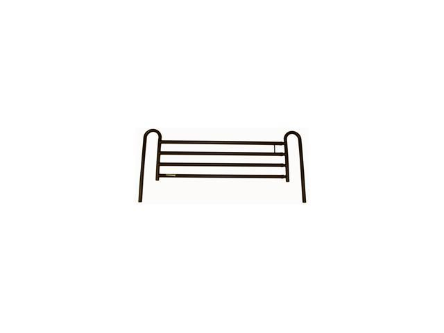 Roscoe Medical BED-RLFDLX Bed Rails and Accident Prevention, Brown