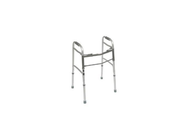 Roscoe Medical ROS-WK40350-4 Two Button Walkers, Gray