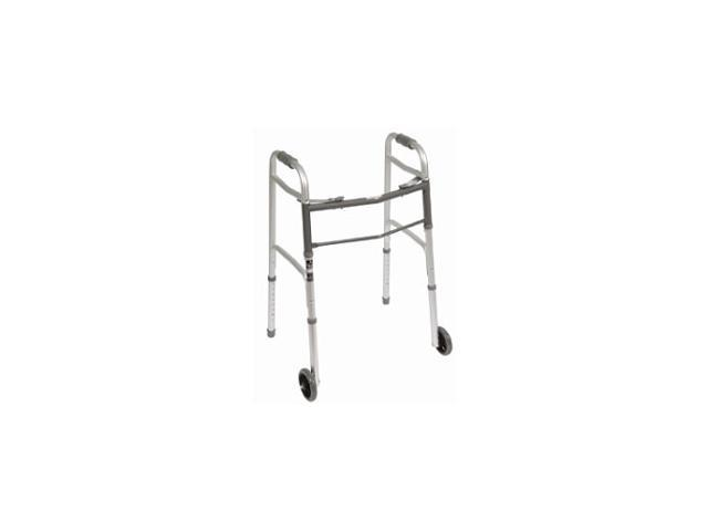 Roscoe Medical ROS-WK42351-4 Two Button Walkers, Gray