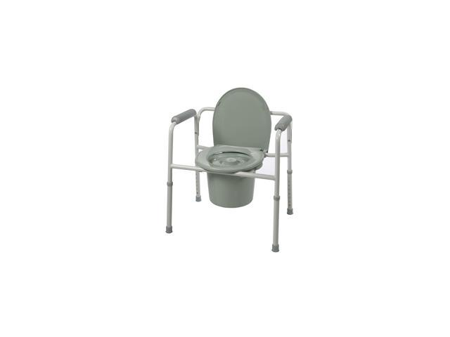 Roscoe Medical BTH-31C Three-In-One Commode, Gray