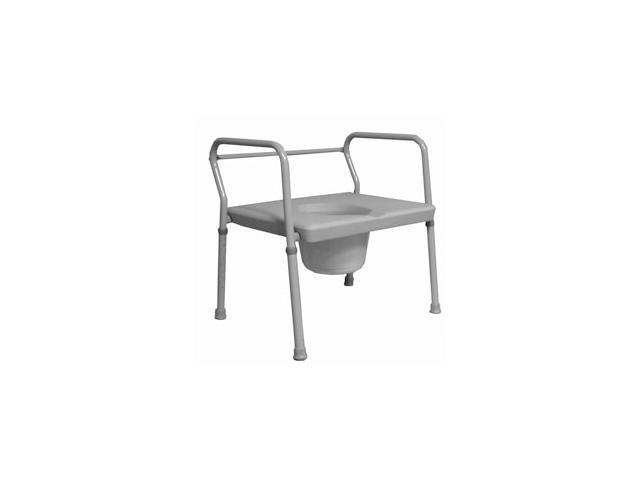 Roscoe Medical BTH-COM 24-inch Extra Wide Commode, Gray