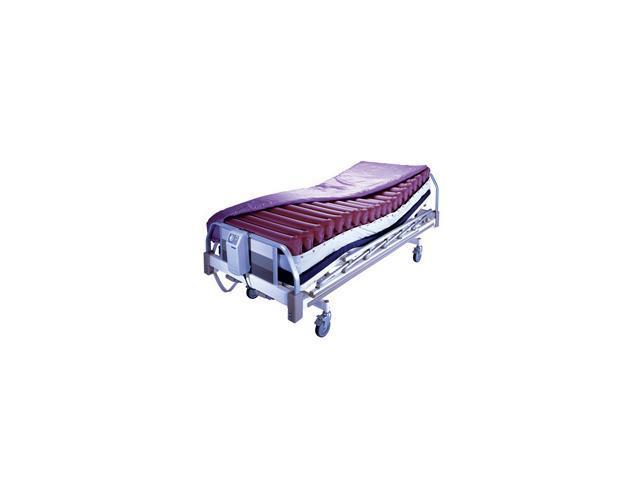 Roscoe Medical APM-8000-GBN Genesis III Series Alternating Pressure Pump and Low Air Loss Mattress, Red