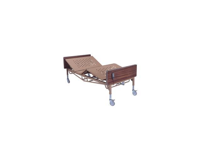 Roscoe Medical 30064 Full-Electric Bariatric Bed, Brown
