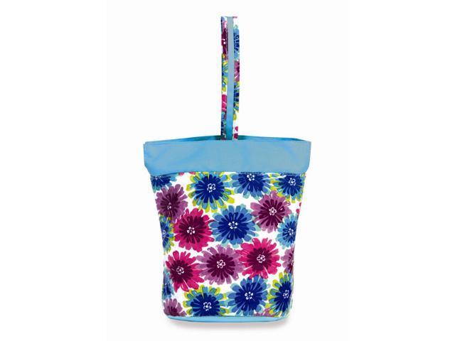 Picnic Plus PSM-147BB Razz Lunch Tote - Blue Blossum