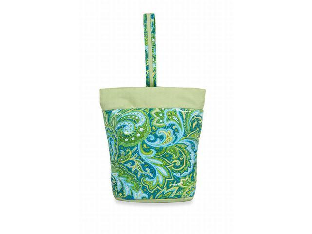 Picnic Plus PSM-147GP Razz Lunch Tote - Green Paisley