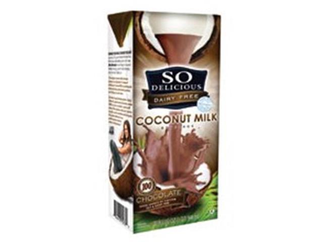 So Delicious 86766 So Delicious Chocolate Coconut Milk- 12-32 OZ