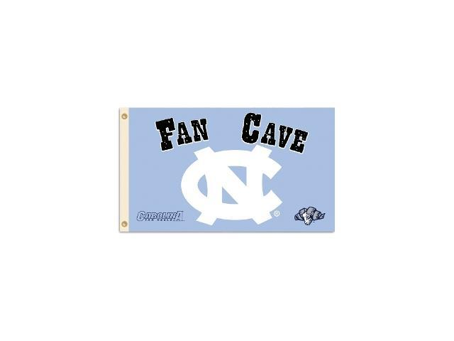 BSI PRODUCTS 95608 North Carolina Tar Heels Man Cave 3 Ft. X 5 Ft. Flag with  4 Grommets