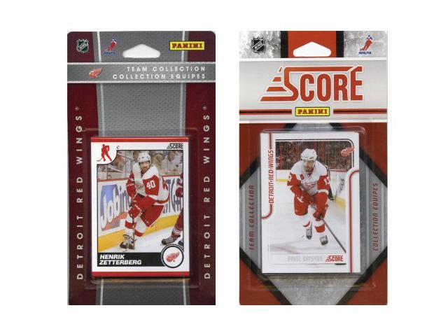 C & I Collectables RWINGS2TS NHL Detroit Red Wings Licensed Score 2 Team Sets