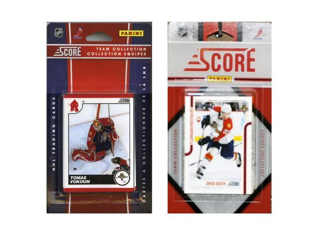 C & I Collectables FLAPAN2TS NHL Florida Panthers Licensed Score 2 Team Sets