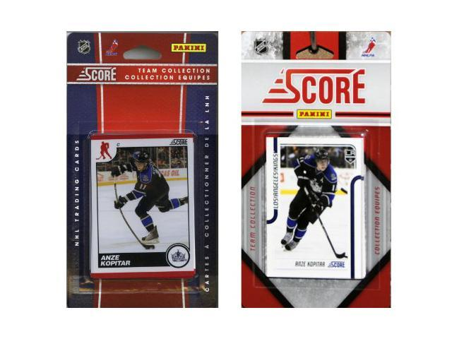 C & I Collectables LAKINGS2TS NHL Los Angeles Kings Licensed Score 2 Team Sets