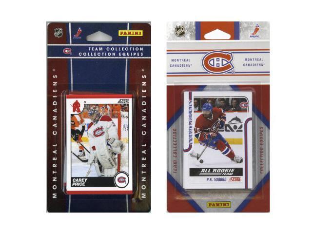 C & I Collectables HABS2TS NHL Monteal Canadiens Licensed Score 2 Team Sets
