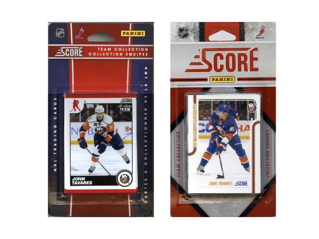 C & I Collectables NYI2TS NHL New York Islanders Licensed Score 2 Team Sets