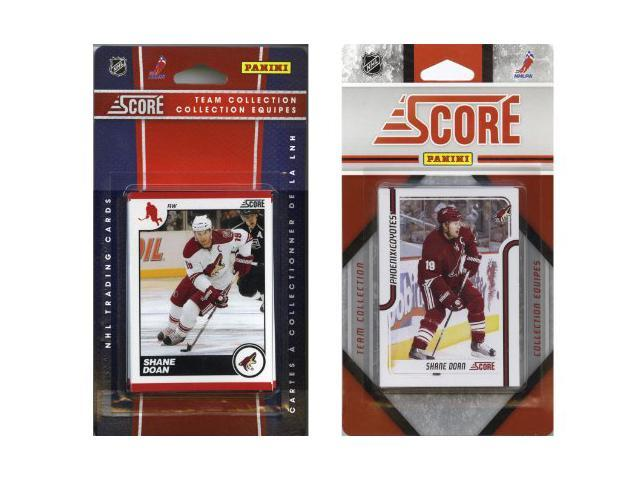 C & I Collectables COYOTES2TS NHL Phoenix Coyotes Licensed Score 2 Team Sets