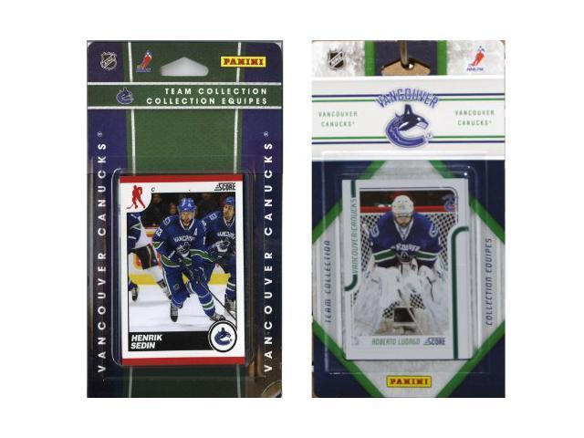 C & I Collectables CANUCKS2TS NHL Vancouver Canucks Licensed Score 2 Team Sets