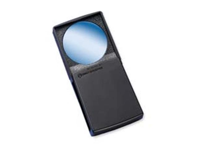 Bausch & Lomb BAL813133 Round Magnifier with Cover- 5x- 2in.- Black Frame