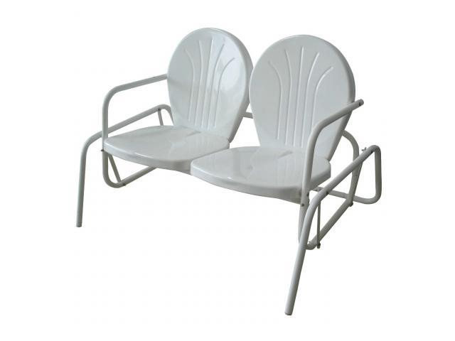 Buffalo Tools MCDSG Double Seat Glider Chair