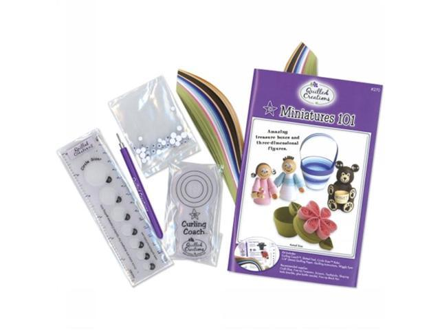 Quilled Creations Q270 Quilling Kit Miniatures 101