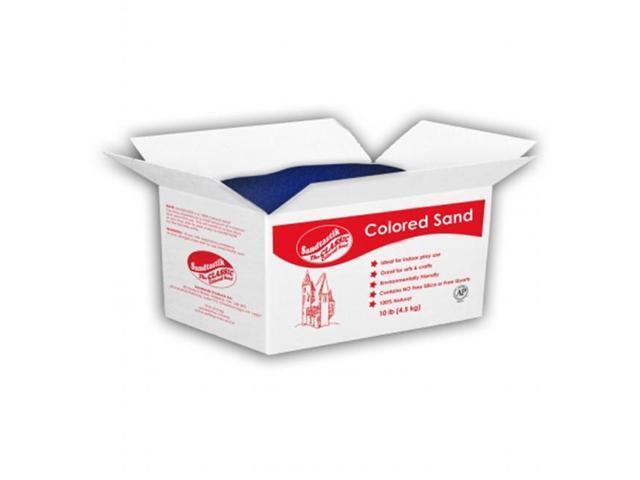 SANDTASTIK PRODUCTS INC. COL10LBBOXPCH 10 LB BOX OF PEACH SAND- 4.5 kg