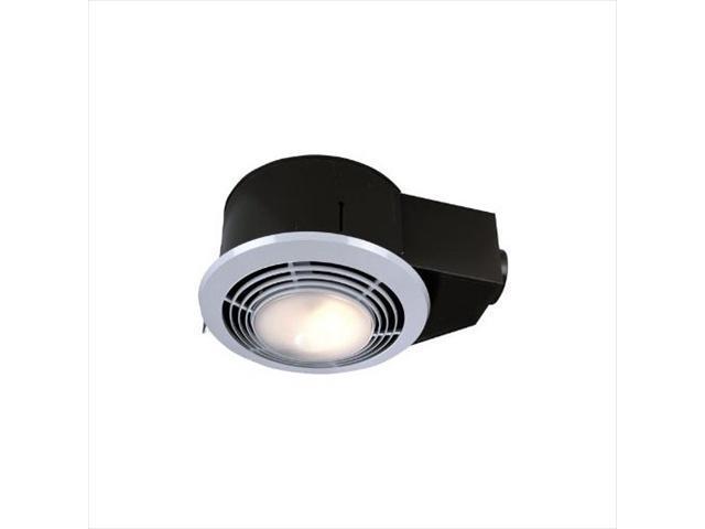 Broan Nutone 668rp Bathroom Fan Light: Broan-Nutone QT9093WH 100 CFM Ceiling Exhaust Fan With