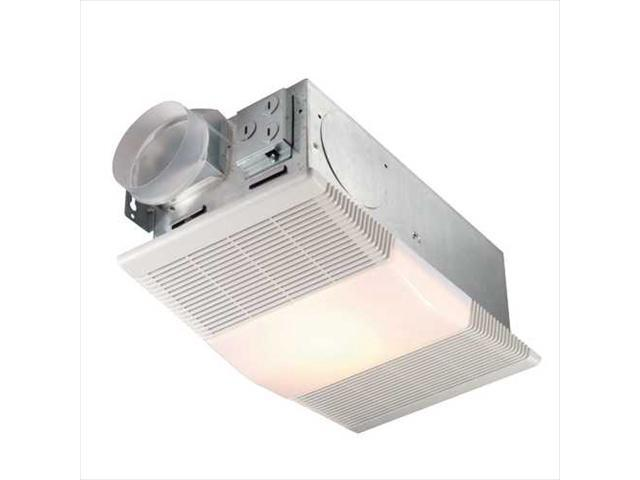 Broan nutone 665rp 70 cfm ceiling exhaust fan with light - Nutone ventilation fan with heater and light ...
