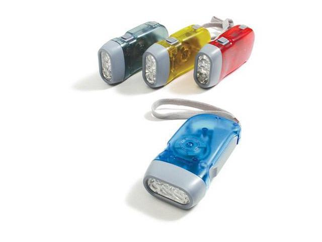 Baumgartens 42600 Flashlight Squeeze Asst Colors - Pack of 6