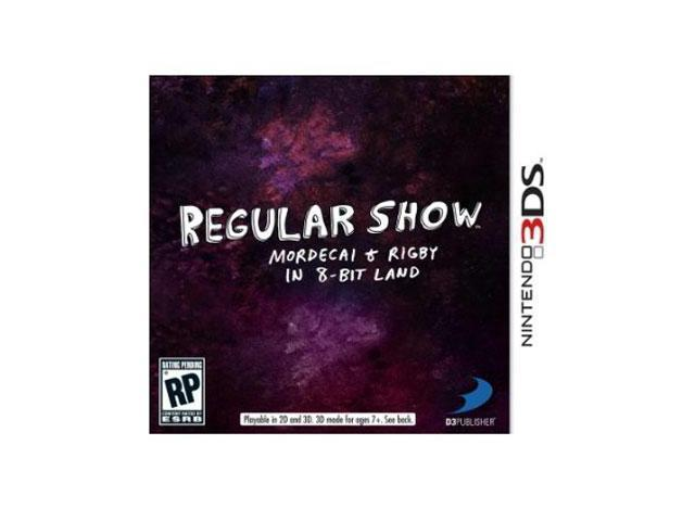 Regular Show Mordecai  3ds