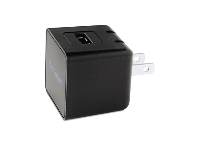 Kensington 39572 AbsolutePower 2.1 Wall Charger, Variable Port 2.1 Amp, Detachable USB