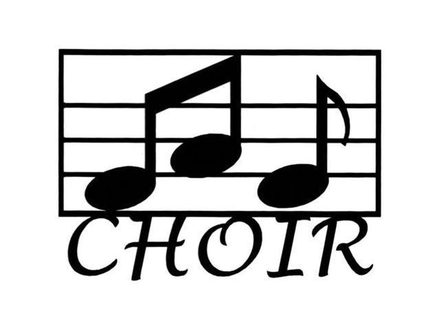Cardstock Laser Die-Cuts-Choir