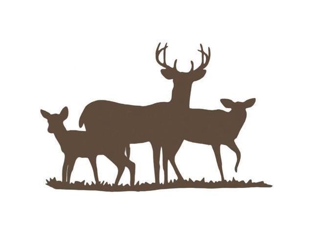 Cardstock Laser Die-Cuts-Deer Family