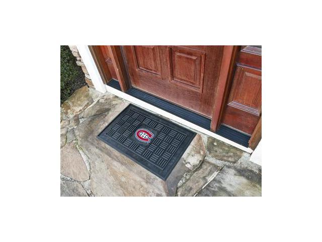Fanmats 11471 NHL - 19 in. x30 in.  - Montreal Canadiens Medallion Door Mat