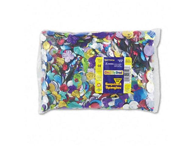 Sequins & Spangles Classroom Pack Assorted Metallic Colors 1 lb/Pack