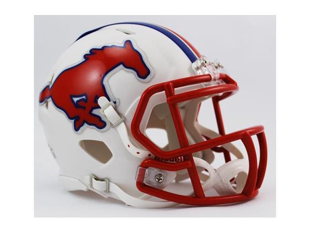 Creative Sports Enterprises, Inc RC-SMU-MR-Speed SMU Southern Methodist Mustangs Riddell Speed Mini Football Helmet