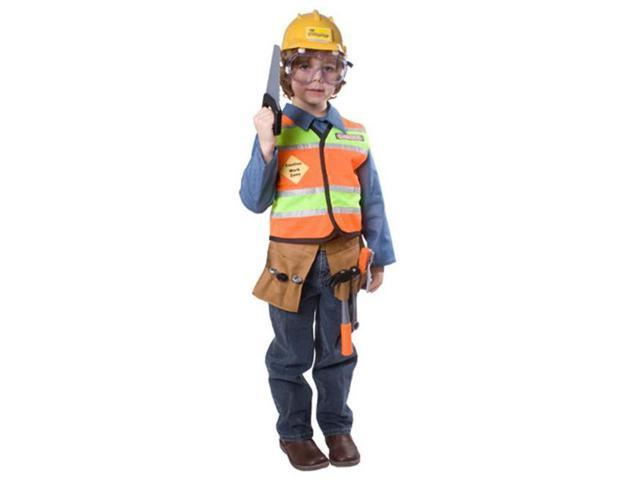 Dress Up America 513-T4 Construction Worker Child Costume - Size T4